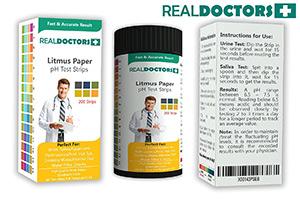 กระดาษลิสมัสแบรนด์ Real Doctors