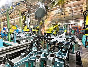 การผลิตอุตสาหกรรมในเอเซีย