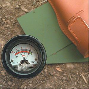 เครื่องวัด pH และความชื้นในดินแบรนด์ Kelway