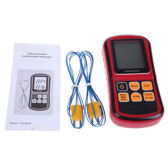 เครื่องวัดอุณหภูมิและความชื้นแบบดิจิตอล-BENETECH-GM1312
