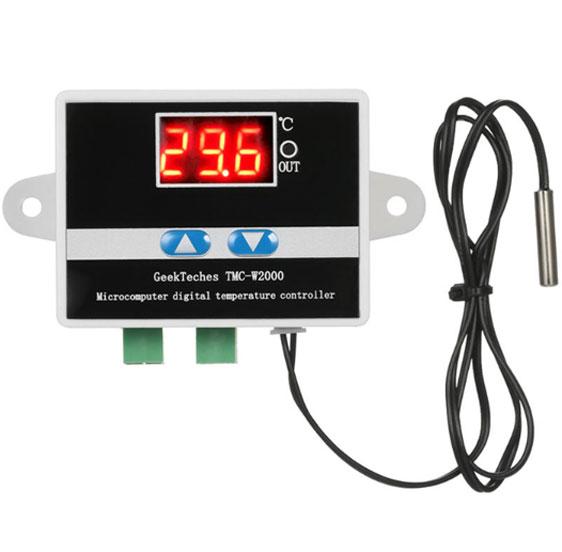 เครื่องวัดอุณหภูมิและความชื้นแบบดิจิตอล-GeekTeches-TMC-W2000