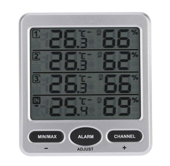 เครื่องวัดอุณหภูมิและความชื้นแบบดิจิตอล-TS-WS-10