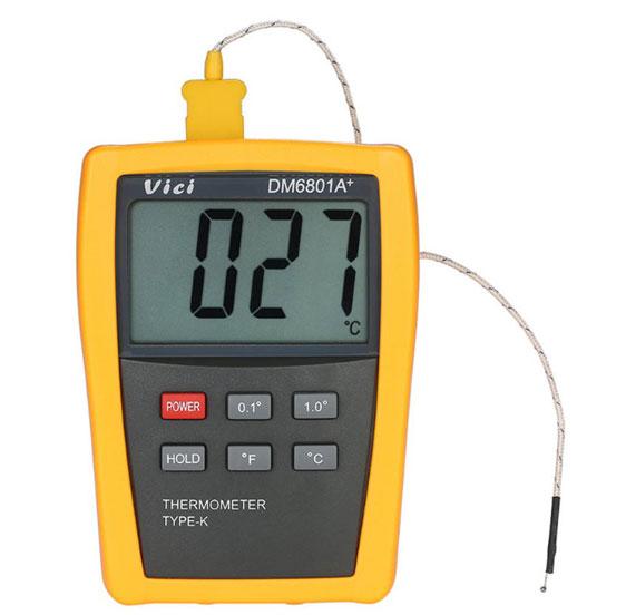 เครื่องวัดอุณหภูมิและความชื้นแบบดิจิตอลVici-DM6801A